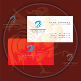 swirl business card logo