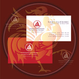 triangle business card logo