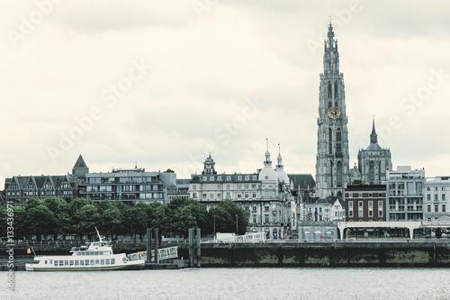 Keuken foto achterwand Antwerpen Antwerp