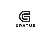 Letter G Logo Luxury design vector Linear. Type Character Symbol - 133443524