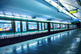 Metro station in Paris - 133452302