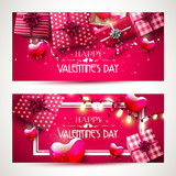 Luxury Valentines Day headers