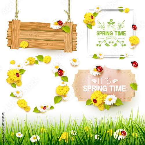 Spring elements collection