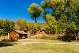 Vintage rustic barn