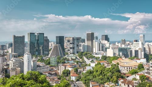 Rio De Janeiro Dowtown Business District, Brazil