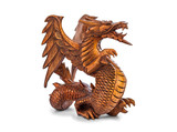 Toy wood dragon
