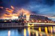 Notre Dame de Paris at Twilight
