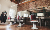 Retro styled barbers...
