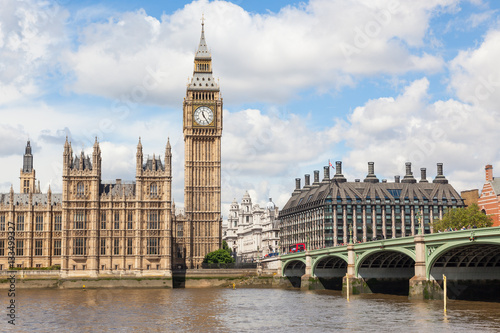 Poster Big Ben and the River Thames
