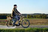 Fototapety farmer moped