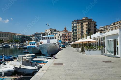 Fotobehang Palermo Port of Palermo, Sicily, Italy