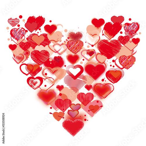 Trueffelpix   Fotolia.com Gemalte Herzen Zum Valentinstag