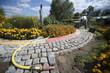 Bau einer Gartenanlage