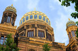 Golden Domes of the New Synagogue, Berlin, Germany