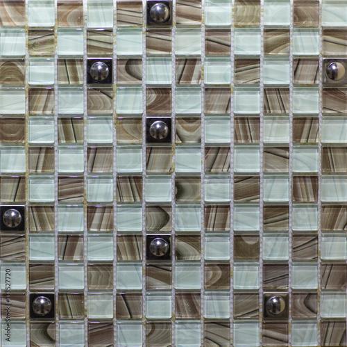 Fototapeta ceramic mosaic tile for kitchen, bathroom, pool