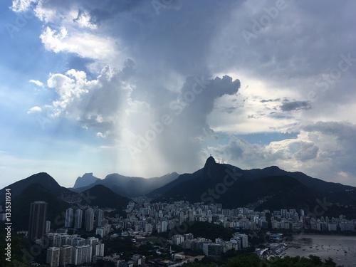 Poster Rio De Janeiro Skyline