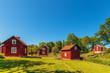 Historic village in Sweden
