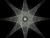 Particles of abstract fractal forms on the subject of nuclear ph