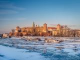 Wawel Castle in winter time