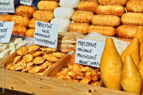 Foto op Canvas Krakau Oscypek cheese