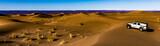 Jeep über Wüste