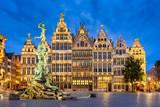 Grote Markt in Antwerp, Belgium