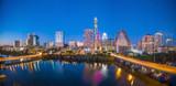 Fototapety Downtown Skyline of Austin, Texas