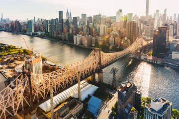 Queensboro Bridge over the East River in New York City