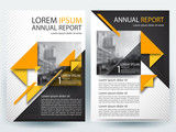 Abstract vector modern/ flyer design / brochure design template / annual report /book cover / corporate identity template /in an A4 page