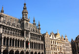 House of bread on Grand place in Brussels, Belgium
