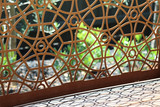 Modern metal garden art - 133615112