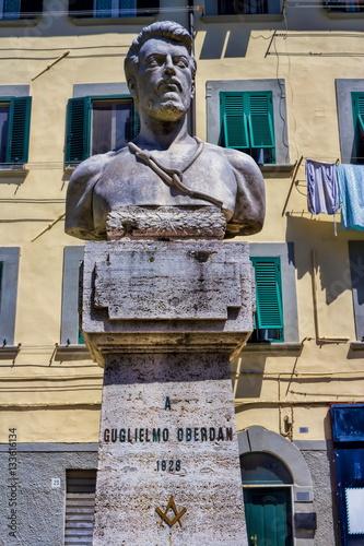 Livorno, Guglielmo Oberdan Poster