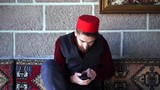 Ottoman Turkish man is surprised by the phone