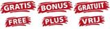 GRATIS_BONUS_GRATUIT_FREE_PLUS_VRIJ Wischer - 133653507