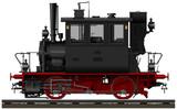 The old Bavarian steam locomotive  - 133669309