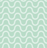 seamless geometric pattern based on circles forms