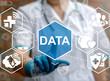 Medicine big data smart mobile computer health care integration iot concept. Medical information database cloud server healthy web technology