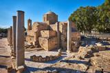 The Panagia Chrysopolitissa (Ayia Kyriaki) church in Paphos, Cyprus