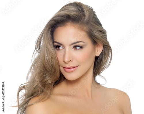 Poster Beautiful Dark Blond Hair