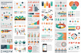 Infographic elements data visualization vector - 133797356