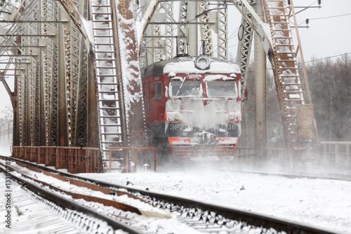 Poster train.