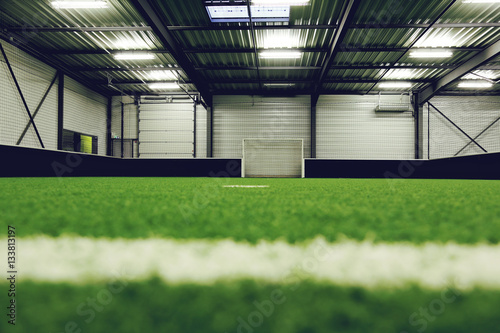 Aluminium Voetbal centre sportif, terrain de football en salle