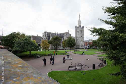 Poster St. Patricks Church in Dublin