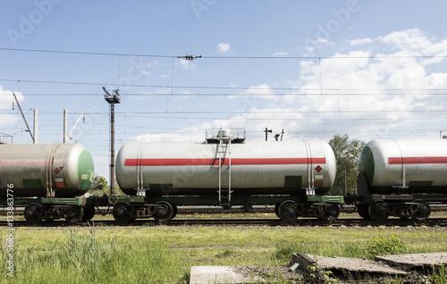 Poster railway tank wagon