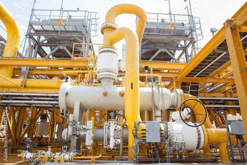 Compressor and pumping systems in oil field in Azerbaijan Caspian sea Poster