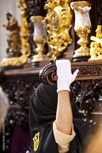 Holy week in Seville, Andalusia, Spain.
