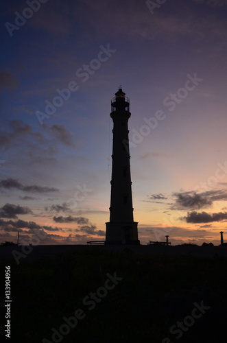 Poster Towering California Lighthouse at Dawn