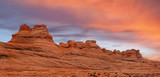 Panorama of the New Wave, Glen Canyon National Monument