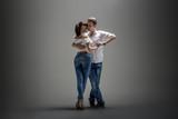 Fototapety couple dancing social danse