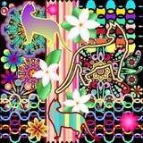 Mandalas, Cats & Flowers Fantasy Pattern